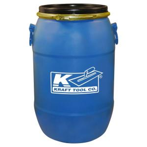 Kraft Tool Co. 15 Gal. Mixing Barrel with Lid by Kraft Tool Co.