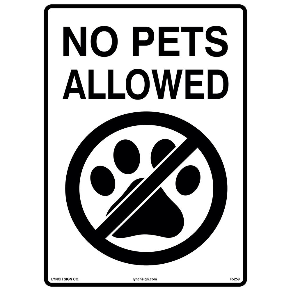 Dashing image with regard to no pets allowed except service animals sign printable