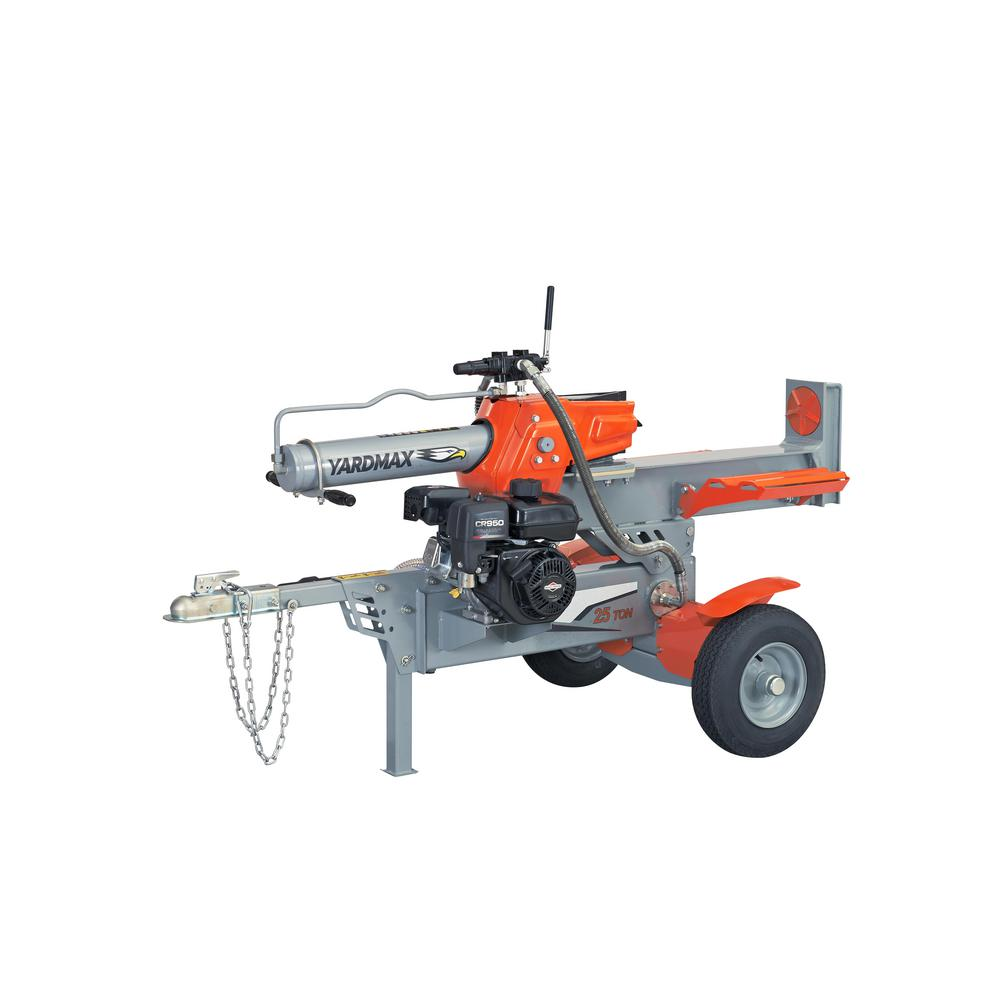 YARDMAX 25-Ton 208cc Gas Log Splitter