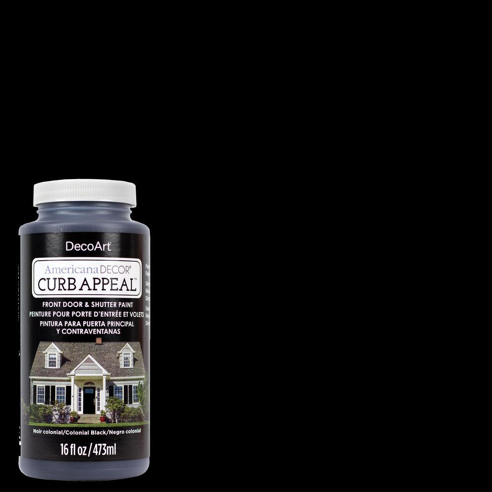 16 oz. Colonial Black Acrylic Paint