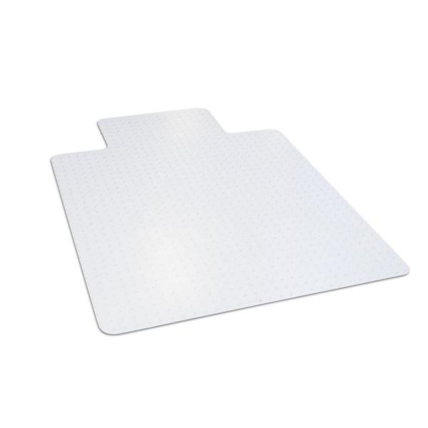 36 in. x 48 in. Clear Office Chair Mat with Lip for Low and Medium Pile Carpet
