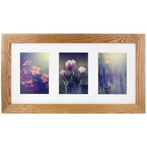 Pinnacle Wall Gallery 5 inch x 7 inch Natural Picture Frame by Pinnacle