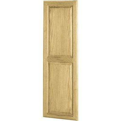 50 in. x 16 in. Unfinished Oak Ironing Center Door