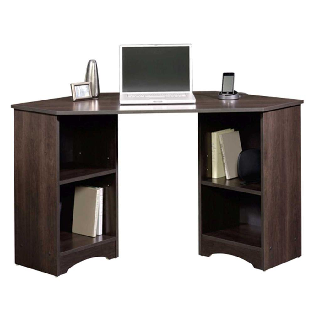 Sauder Beginnings Cinnamon Cherry Desk With Storage