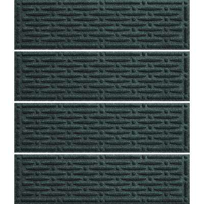 Evergreen 8.5 in. x 30 in. Mesh Stair Tread Cover (Set of 4)