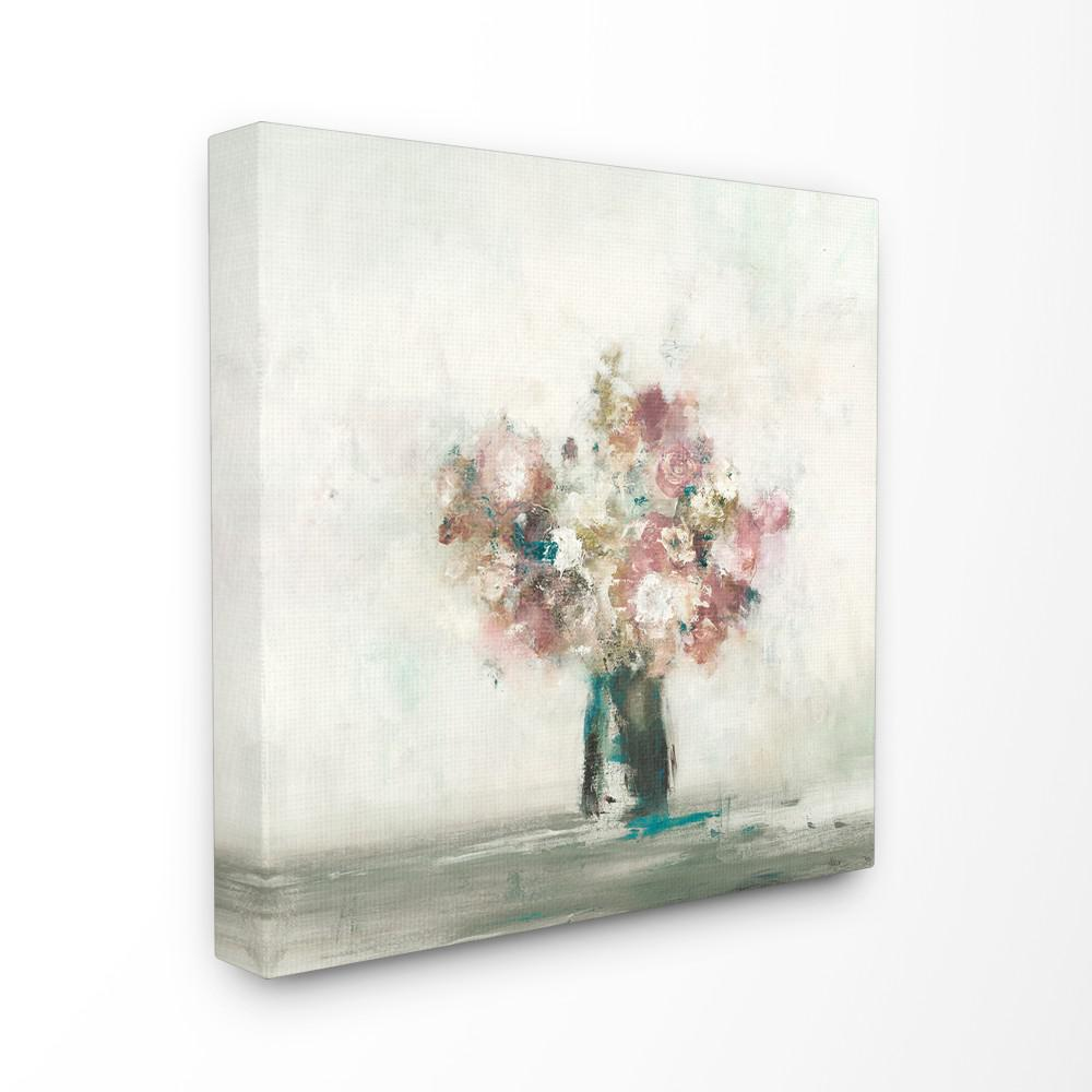 The Stupell Home Decor Collection 24 In X 24 In Muted Subtle Pink