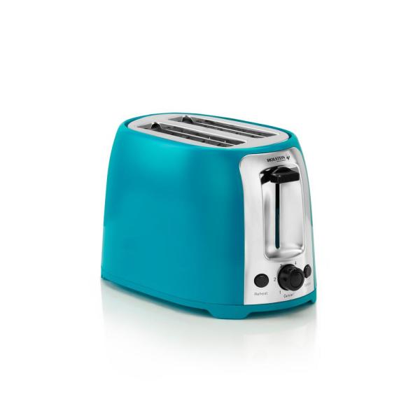800-Watt Teal 2-Slice Toaster