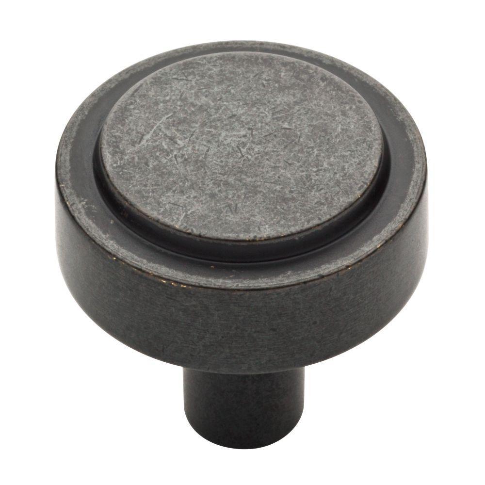 Soft Industrial 1-1/4 (32mm) Soft lron Round Cabinet Knob