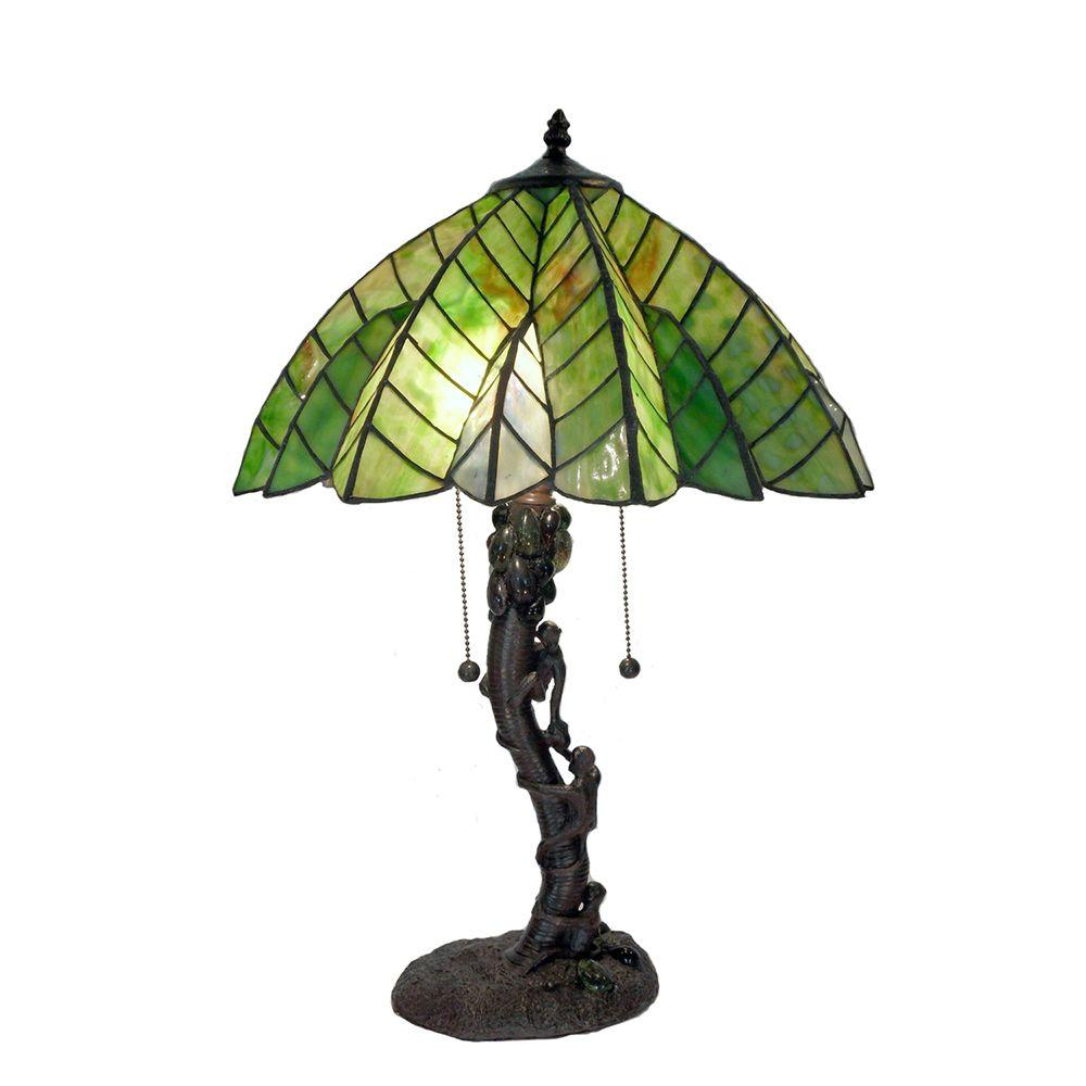 Warehouse of tiffany 17 in bronze tiffany style tree table lamp bronze tiffany style tree table lamp geotapseo Image collections