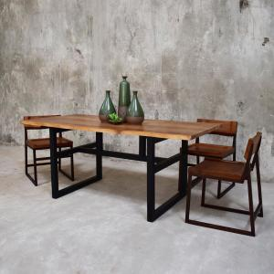 222 Fifth Grove Brown Live Edge Dining Table 7047br021a1j15 The