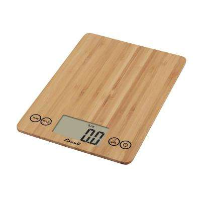 Arti Bamboo Digital Food Scale