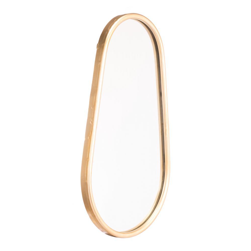 Tear B Gold Wall Mirror