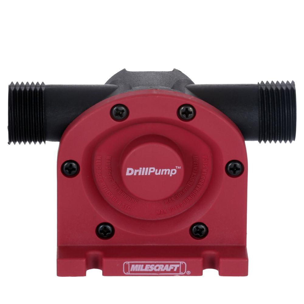 Milescraft DrillPump750 Water Transfer Drill Pump 750 GPH