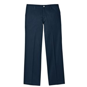 Dickies Men's 42-36 Navy Flame Resistant Relaxed Fit Twill Pant by Dickies