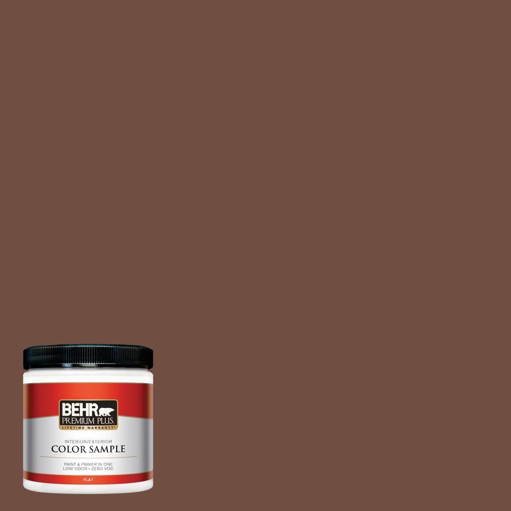 8 oz. #N160-7 Brown Velvet Interior/Exterior Paint Sample