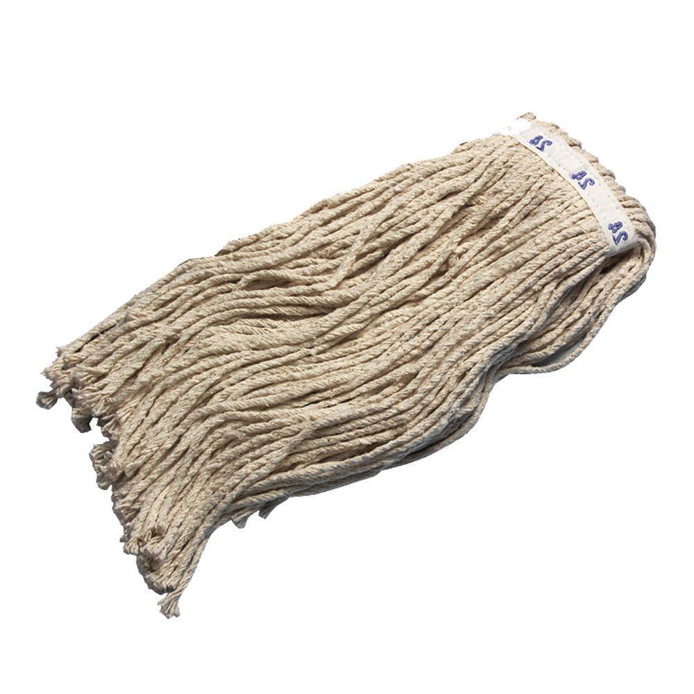 24 8-Ply Cotton Cut End Mop (Case of 12)