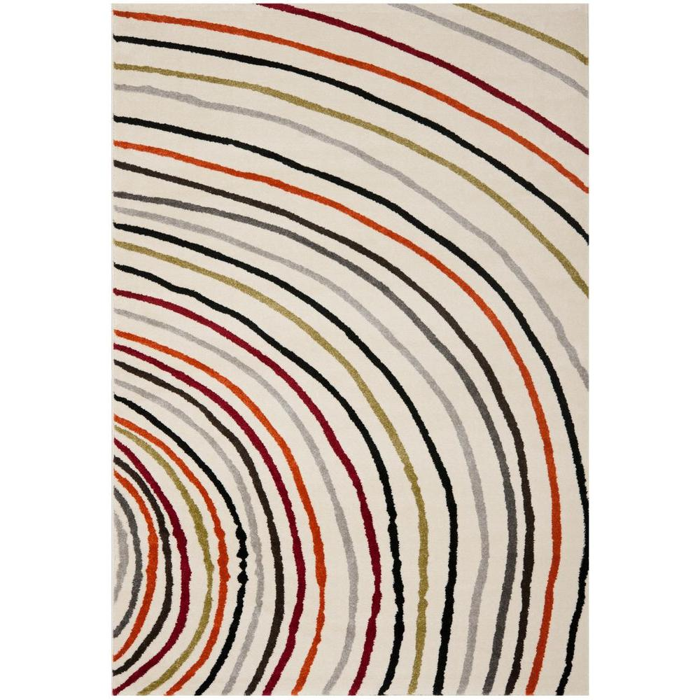 Safavieh Porcello Ivory 6 ft. 7 in. x 9 ft. 6 in. Area Rug