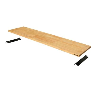 72 in. Solid Wood Work Surface