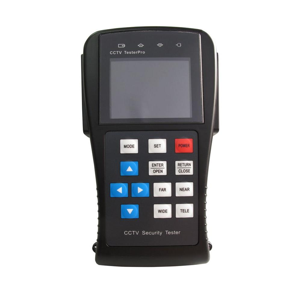 SPT 2.8 LCD Video and PTZ Command Tester