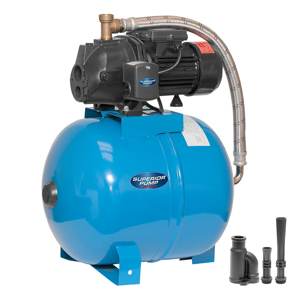 1/2 HP Convertible Jet Tank System with 50L Tank