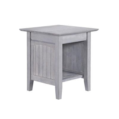 Nantucket Driftwood Grey End Table