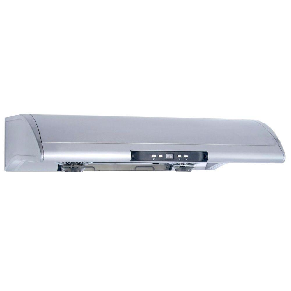 range hood in stainless the home depot