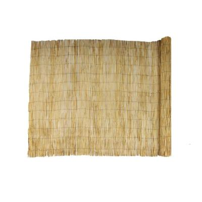 6 ft. H x 16 ft. W Natural Reed Garden Fencing
