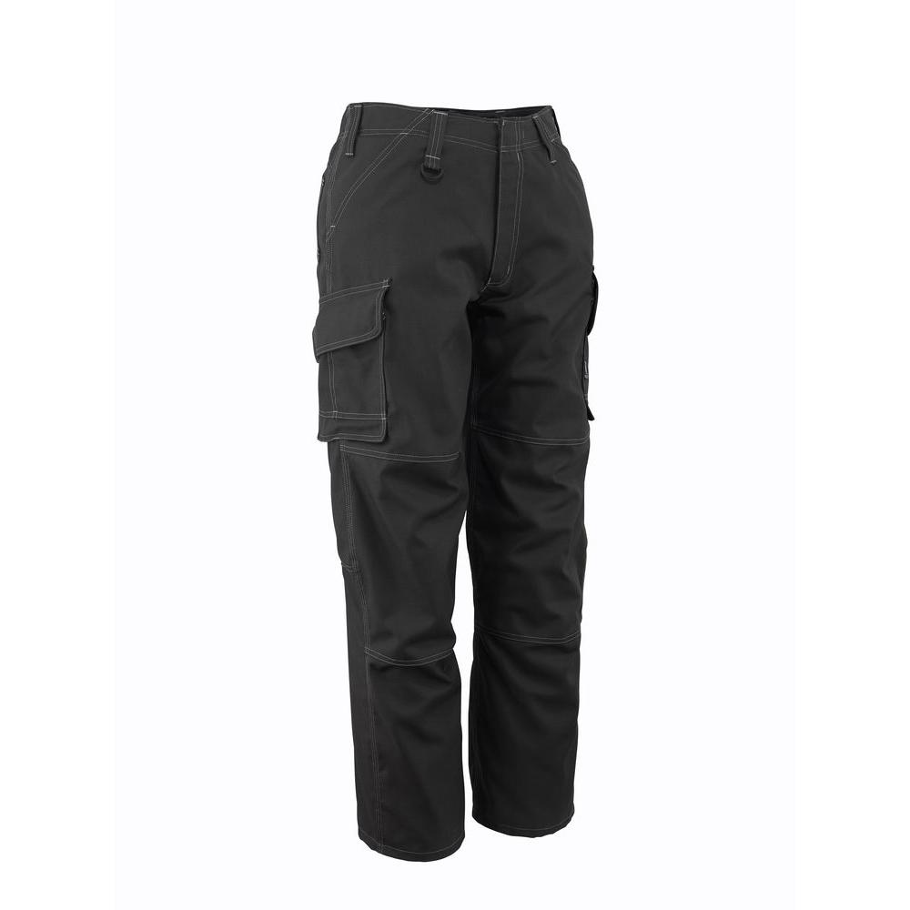 MASCOT Men's 34 in. x 32 in. Dark Grey 65% Polyester/35% Cotton New Haven Service Pant