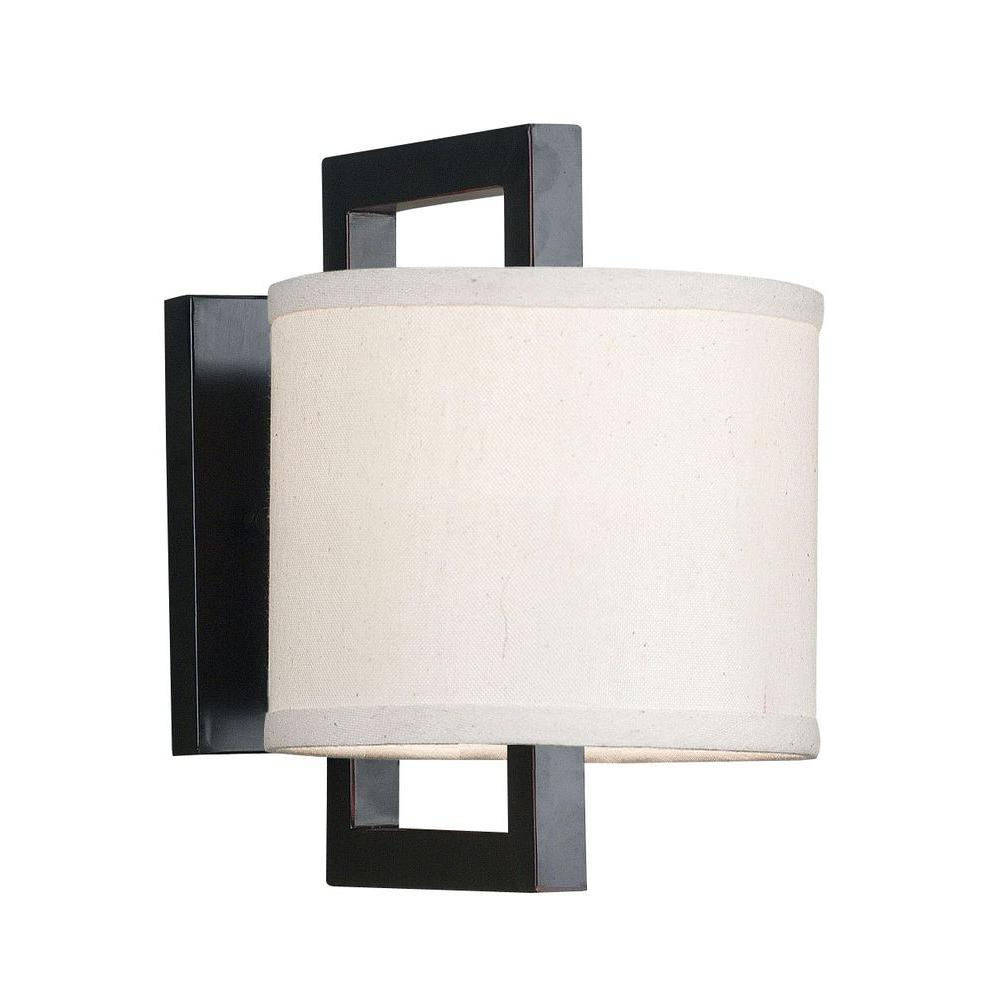 Kenroy Home Endicott 1 Light Oil Rubbed Bronze Wall Sconce