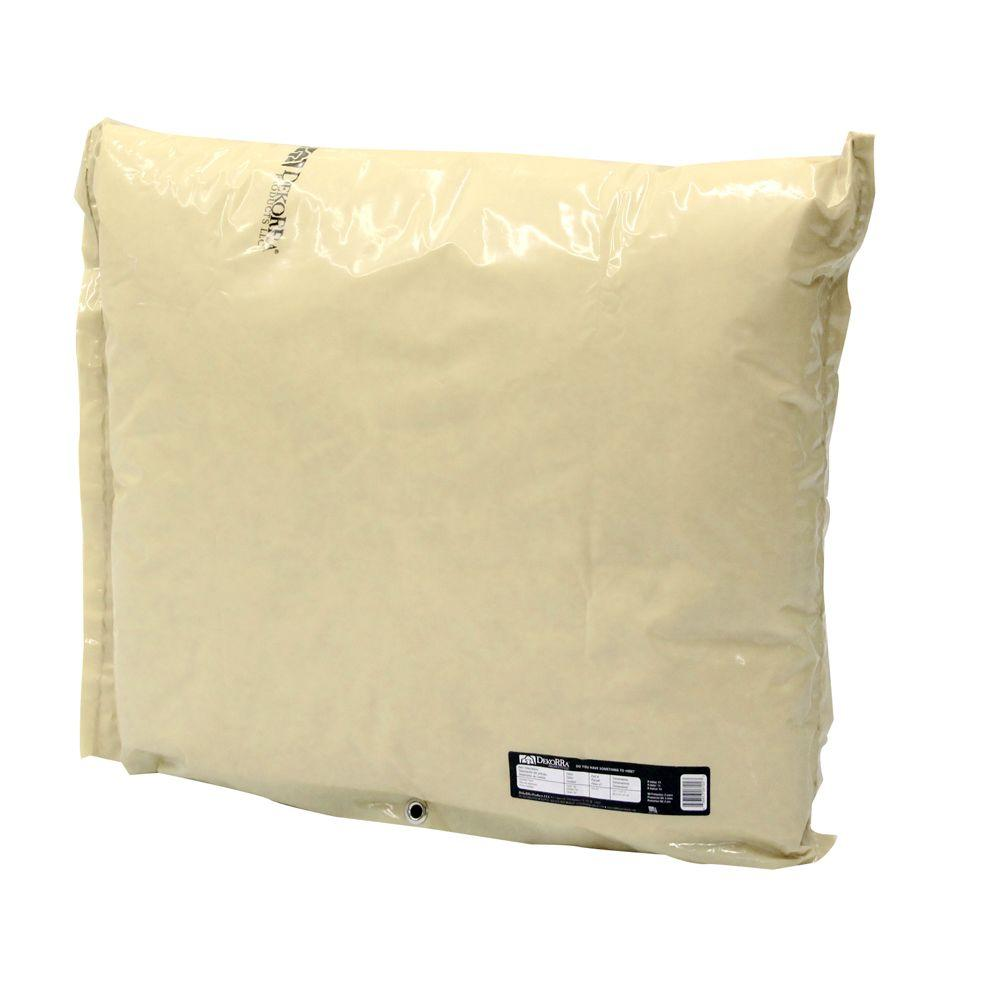 34 in. L x 24 in. H Medium Fiberglass Encapsulated Tan