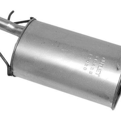 Quiet-Flow SS Muffler Assembly fits 1993-1994 Plymouth Colt