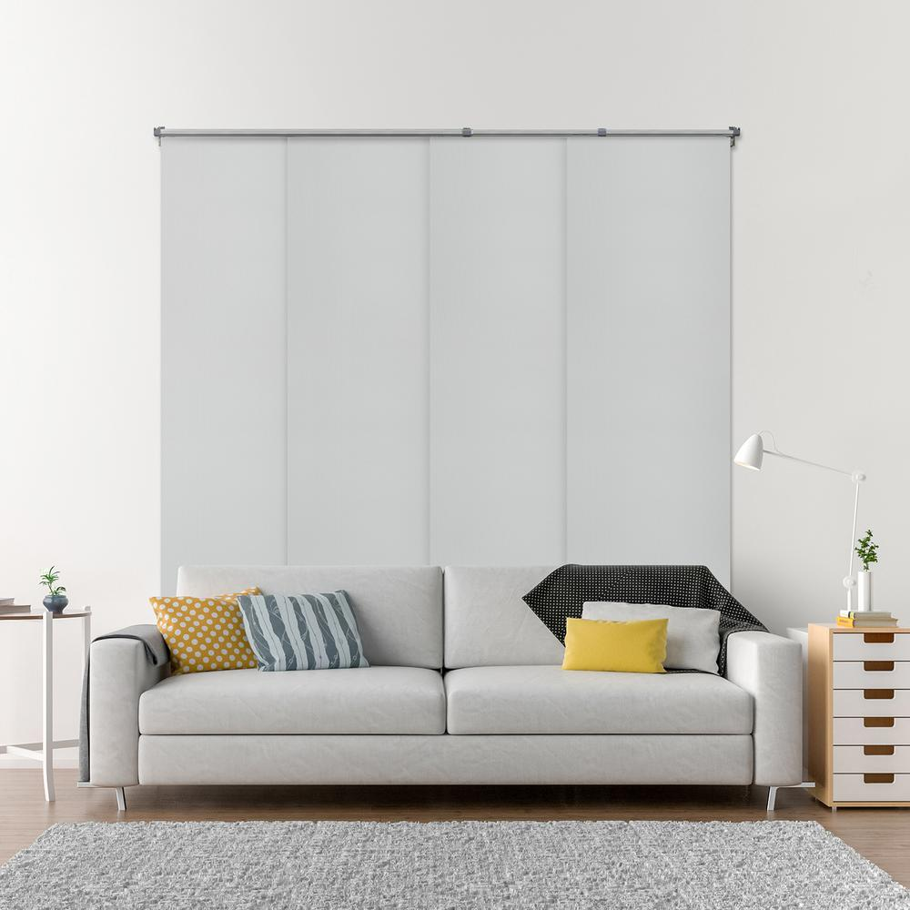 Superieur Chicology Adjustable Sliding Panel / Cut To Length, Curtain Drape Vertical  Blind, Function,