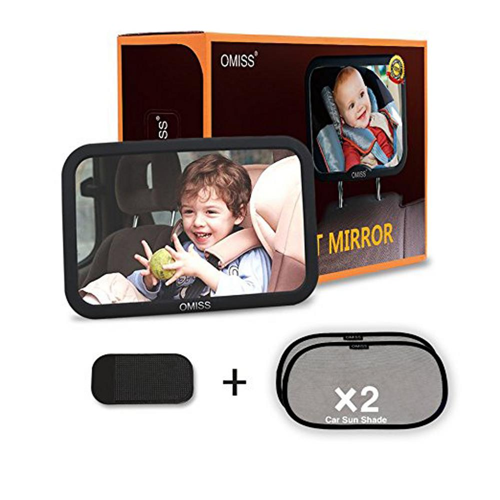 G F Products Baby Mirror Rear Facing To See Babies With