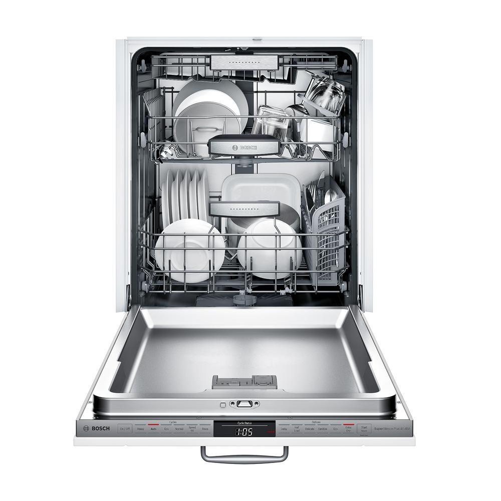 14 Bosch 800 Series Top Control Tall Tub Dishwasher In Custom Panel Ready