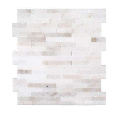 Cotton Valley 11.75 in. x 12.5 in. x 10 mm Stone Mosaic Tile