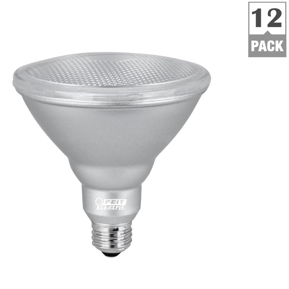 120W Equivalent Warm White (3000K) PAR38 Dimmable LED Cold Start Weatherproof