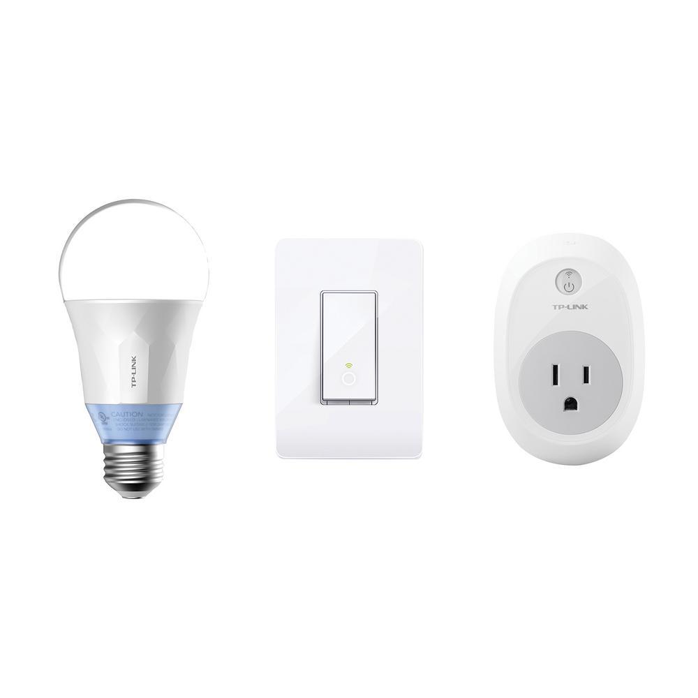 Tp Link Smart Home Starter Kit 815906026531 The Home Depot