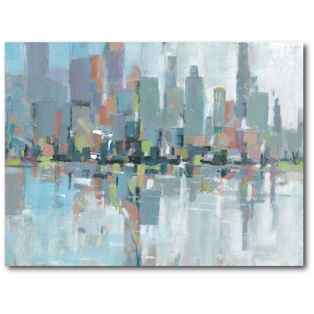 Courtside Market Metro II Gallery-Wrapped Canvas Nature Wall Art 20 in. x 16 in., Multi Color was $70.0 now $38.93 (44.0% off)