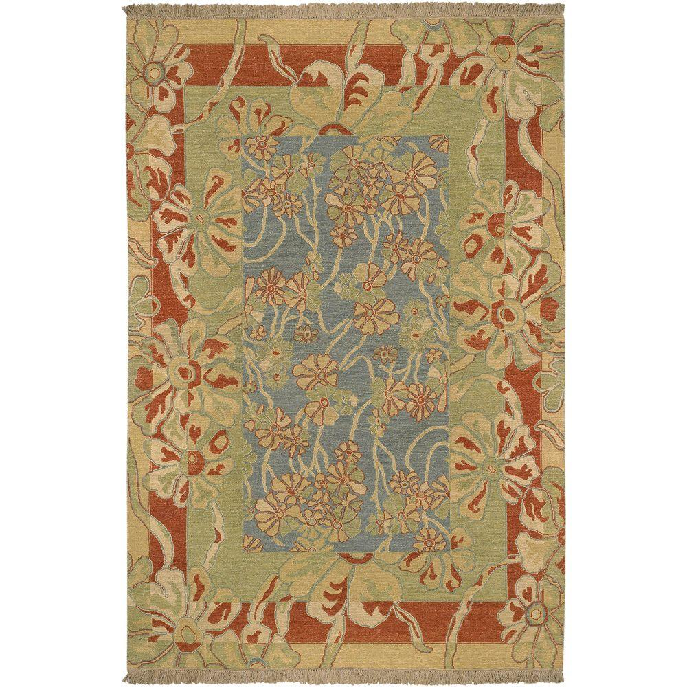 Artistic Weavers Cardenas Blue 8 ft. x 10 ft. Area Rug