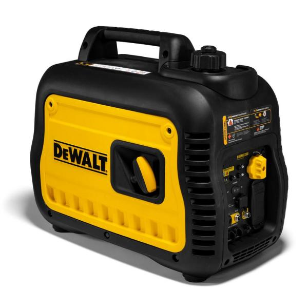 DEWALT Ultra Quiet 2200-Watt Inverter Generator with Auto Throttle & CO-PROTECT Technology, 50 State