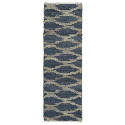 Kenwood Denim 2 ft. x 6 ft. Double Sided Runner Rug