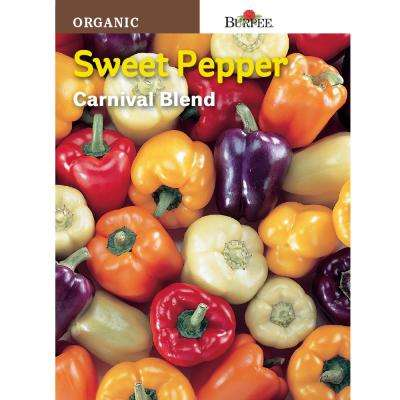 Pepper Organic Carnival Mix Seed