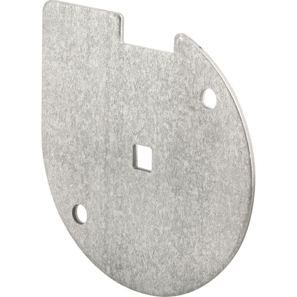 Prime-Line Inside Lock Bar Disk in Galvanized Steel