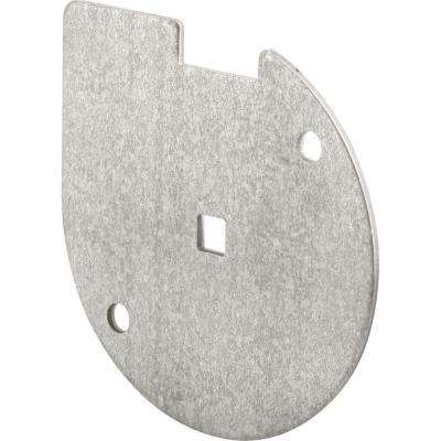 Inside Lock Bar Disk in Galvanized Steel
