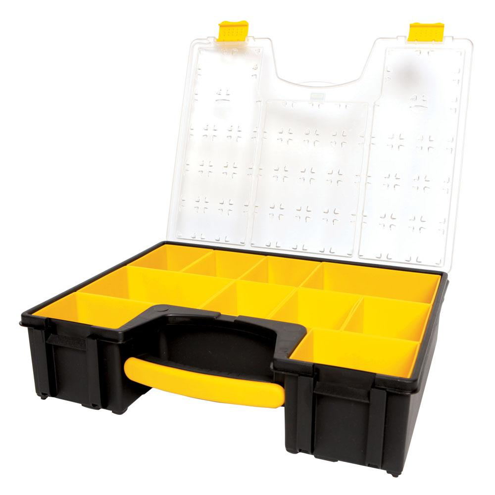 Stanley 10-Compartment Deep Pro Small Parts Organizer
