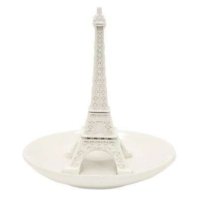 5.5 in. Ceramic Eiffel Tower Ring Holder