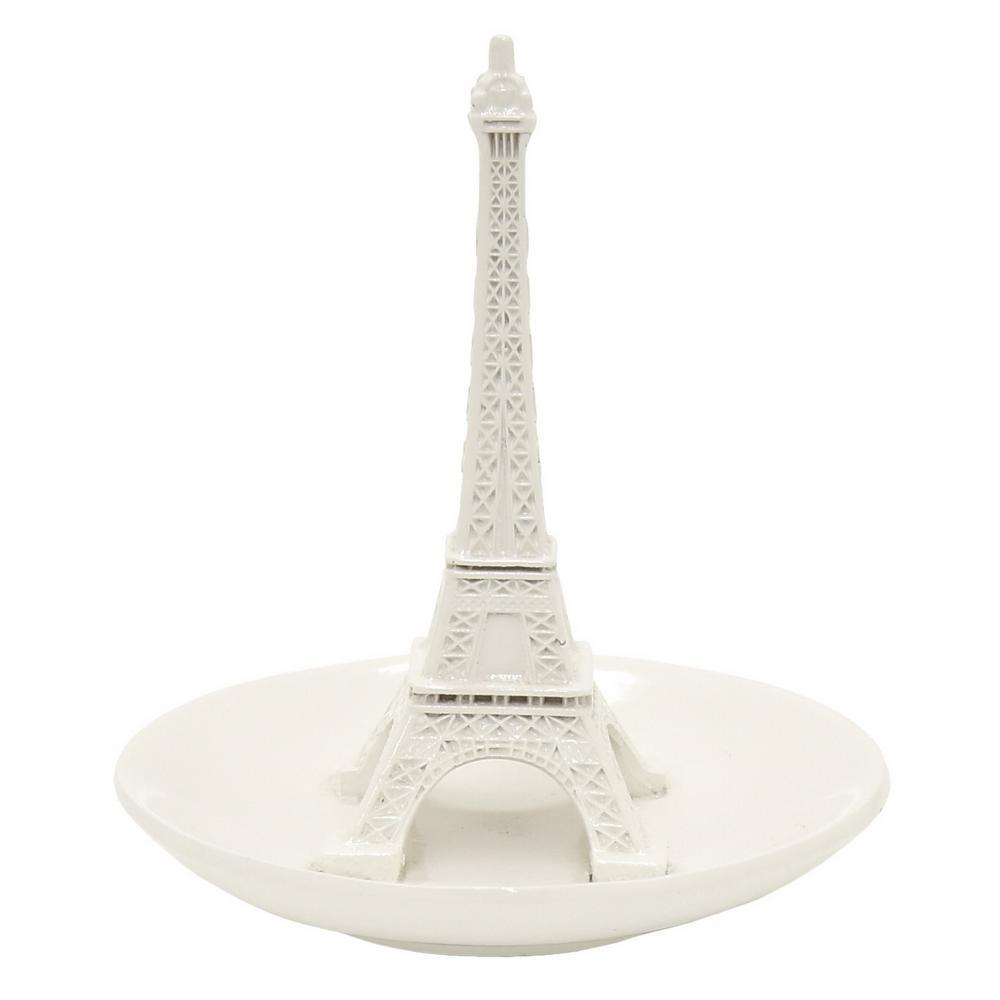 5.5 in. Ceramic Eiffel Tower Ring Holder