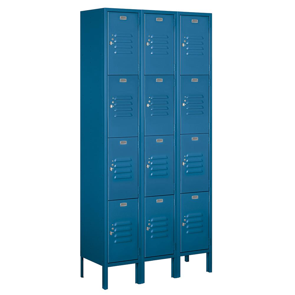 metal lockers for home salsbury industries 64000 series 36 in w x 78 in h x 12 23269