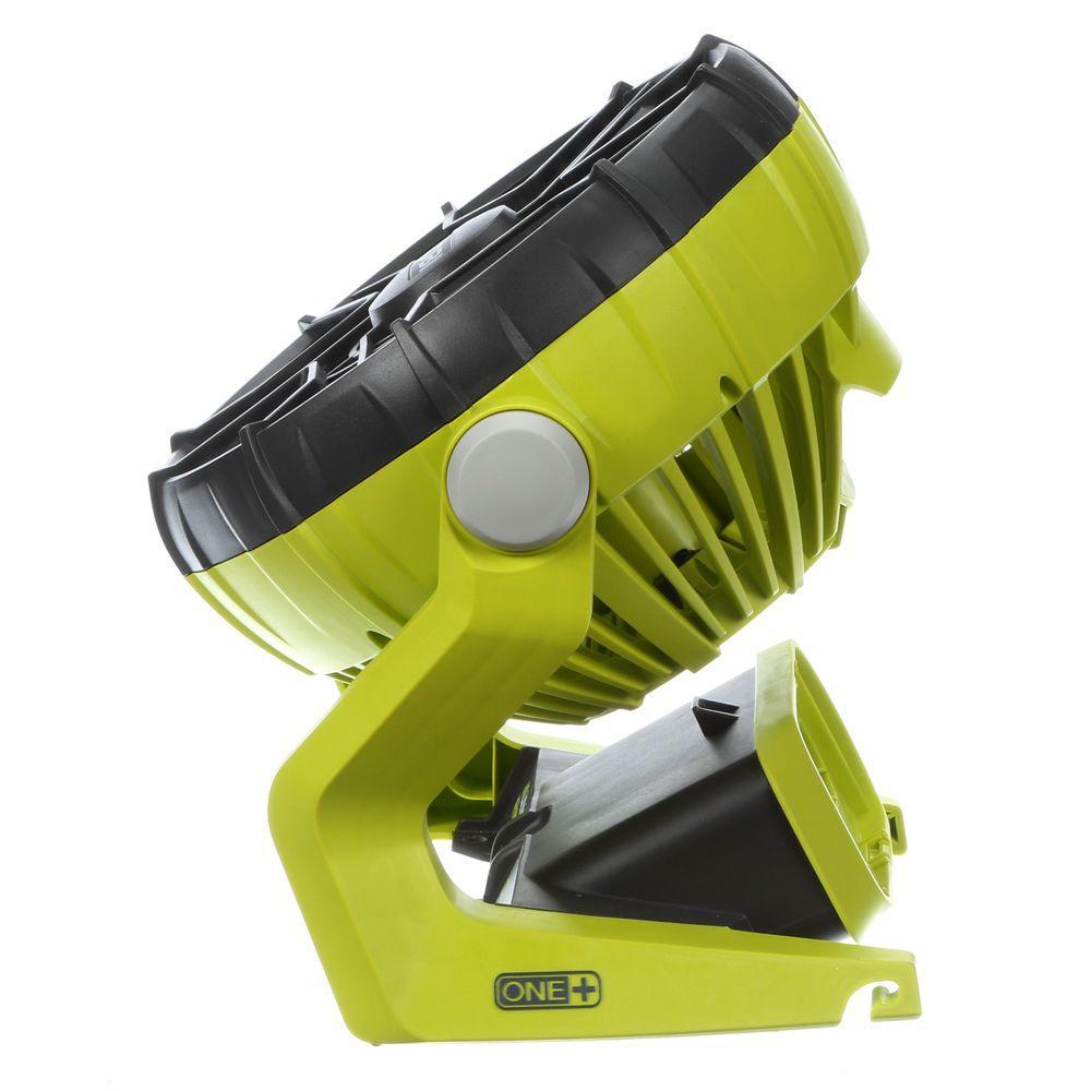 ryobi one 18 volt hybrid portable fan tool only electric. Black Bedroom Furniture Sets. Home Design Ideas