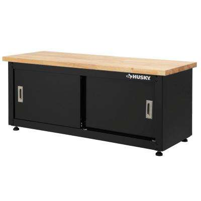 20 in. H x 48 in. W x 18 in. D Steel Storage Bench